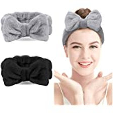 Fleece Hair Bands with Bow