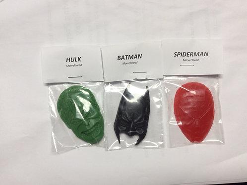 Super Hero Heads Soap