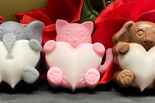 Animal Heart Soap