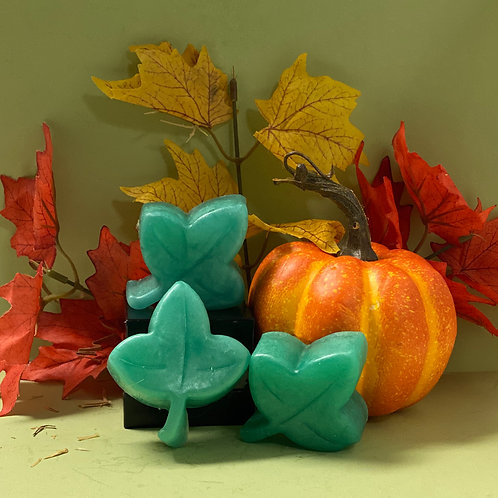Fall Green Leaf Soap