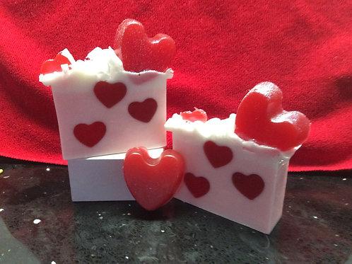 Passionate Hearts Soap