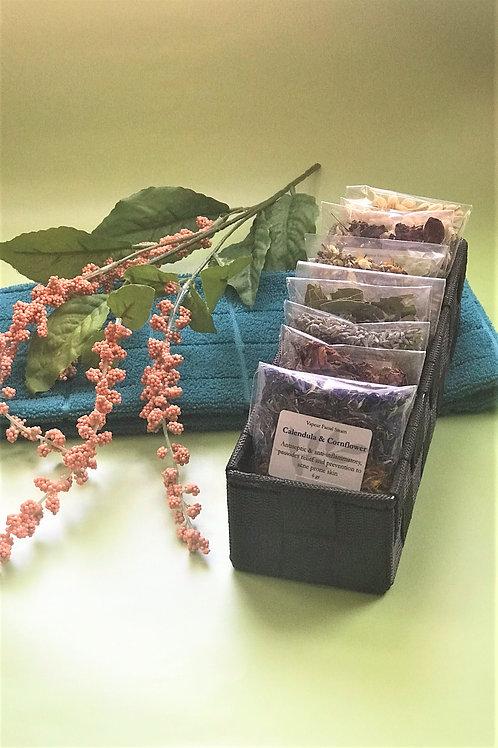 Botanical Facial Steams - 10 Pack
