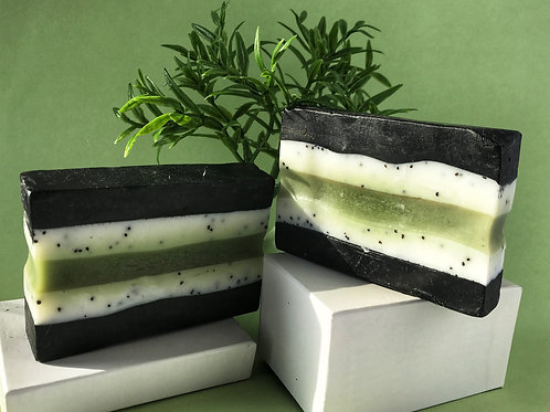 Mint & Clay Natural Shea & Hemp Soap