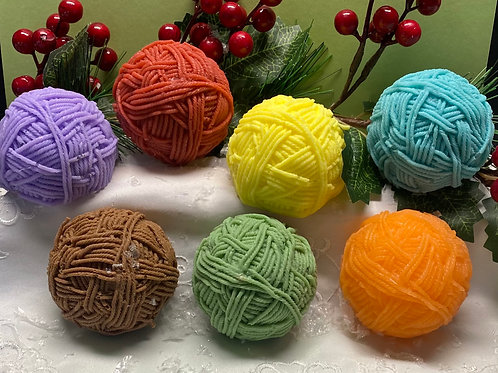 Soap Ball of Wool