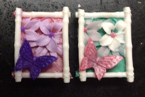 Butterfly in Garden Soap