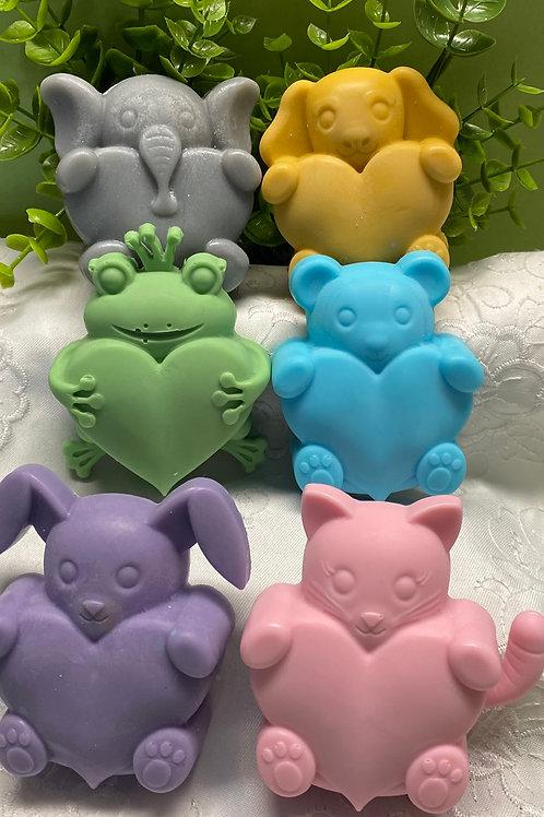 Animal Heart Soap