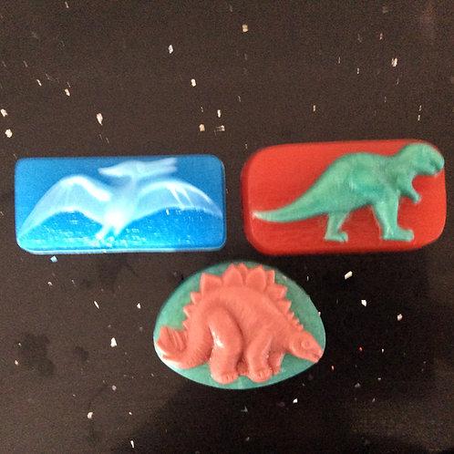 Dinosaur Fossil Soap