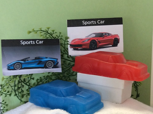 Sports Car Soap