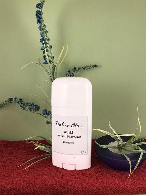 Natural Deodorant - No BS