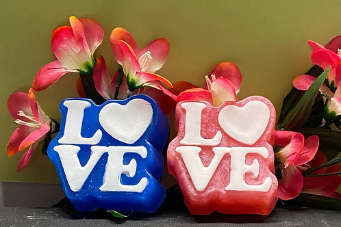 LOVE with Heart Soap