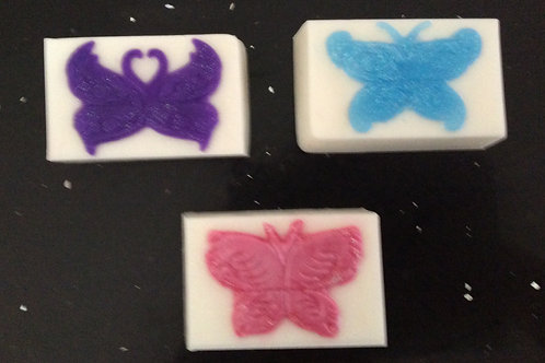 Butterfly Rectangle Goat's Milk Soap