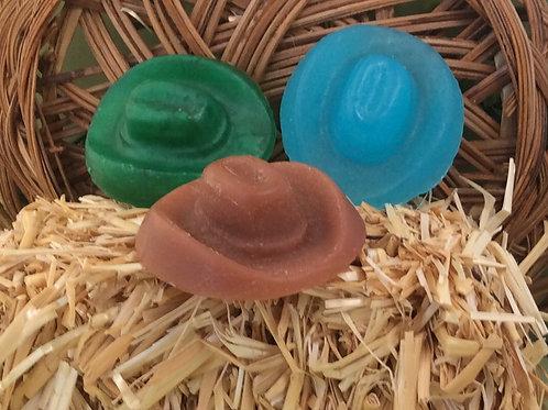 Cowboy Hat Soap