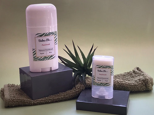 Natural Deodorant - Patchouli