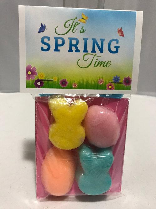 Spring Time Sugar Scrubs