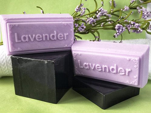 Lavender Word with Goat's Milk