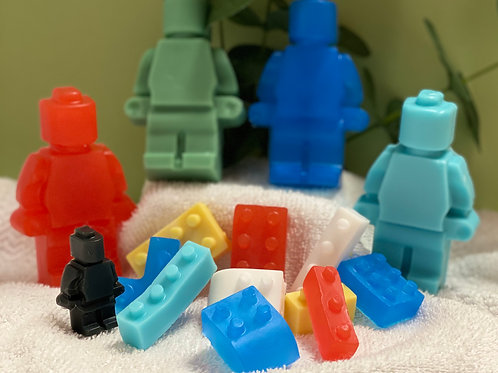 Lego Set Soap