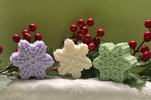 Pastel Snowflake with Goats Milk