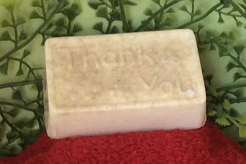 Thank you Soap with Goat's Milk