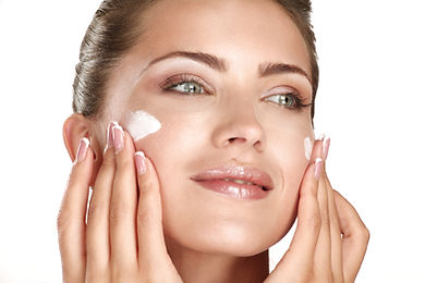 shutterstock_Woman with face cream155762
