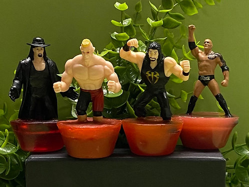 Wrestling Figurines Soap