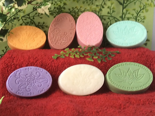 Fancy Oval Donkey's Milk Soap