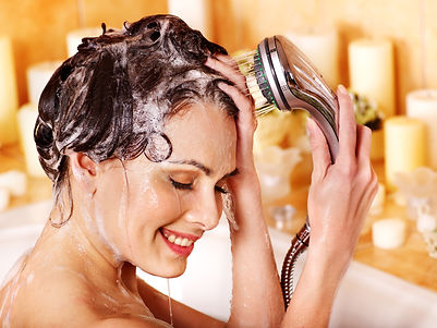 shutterstock Shampoo with girl 132750620
