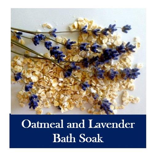 Oatmeal and Lavender Bath Soak