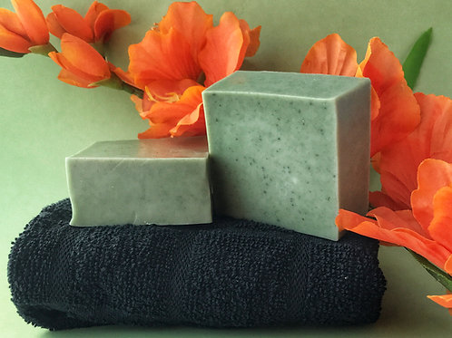Green Clay Anise & Orange Shea Butter Soap