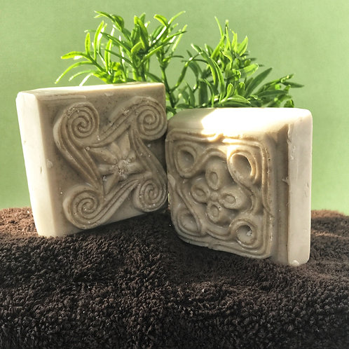 Bentonite Clay Facial Soap for Youth