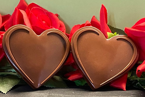 Chocolate Heart Soap
