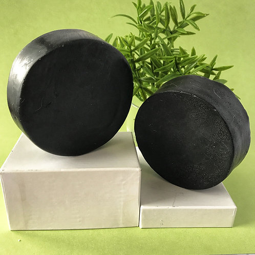 Activated Charcoal Facial Aloe Soap