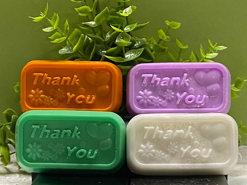 Mini Thank You Soap