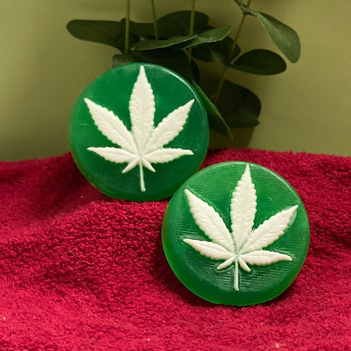 Cannabis Circle Soap