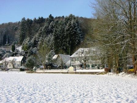 Unser Haus und seine Umgebung im Winter