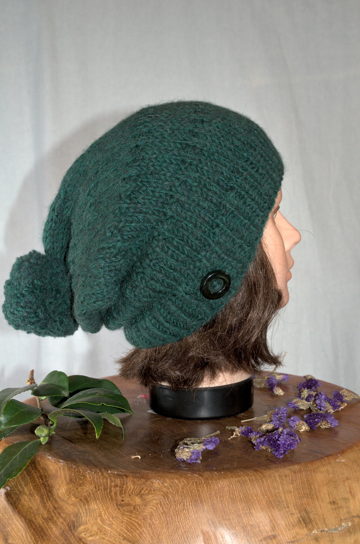 Mütze dunkelgrün