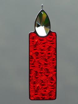 Tiffanykerze rot