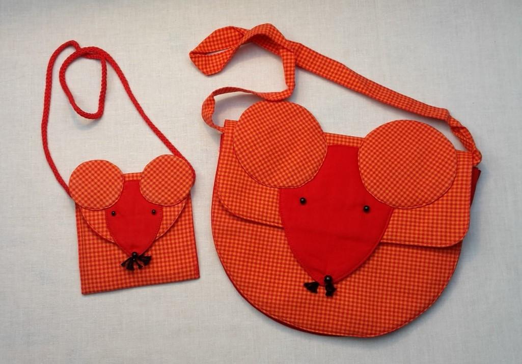 Kiga + Brust Maus orange