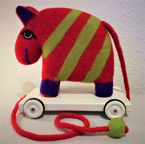 Ziehtier Pferd