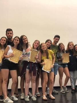 Recibo de Diplomas - Shnat 2018