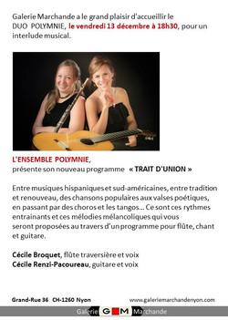Ensemble Polymnie - concert