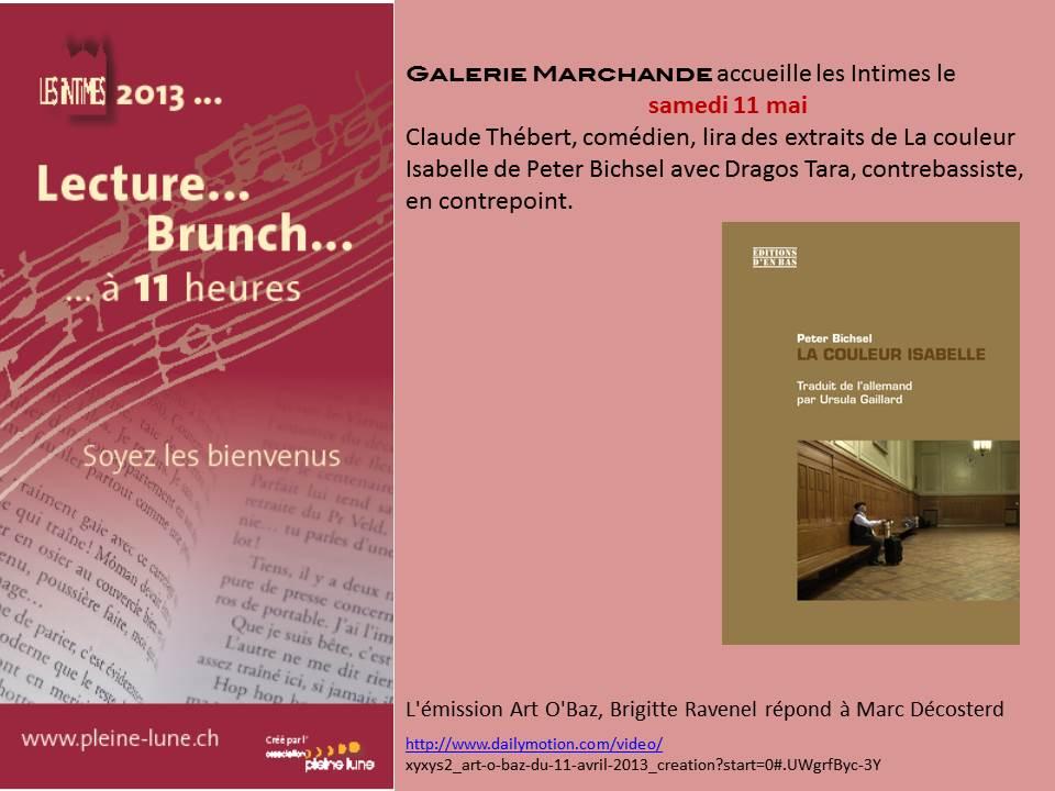 CLAUDE THEBERT - Les Intimes