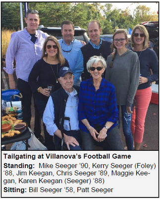 July Donor of the Month– Bill Seeger '58, Mike Seeger '90