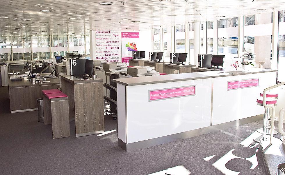 Premium Copyshop - Hochwertige Ergebnisse, Top Druckmaschinen, Brilliantes Papier
