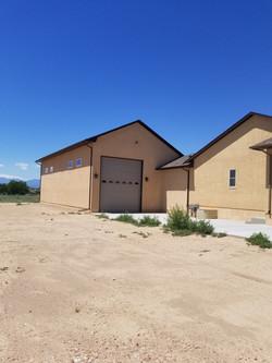 Fully Finished RV Garage in Pueblo West