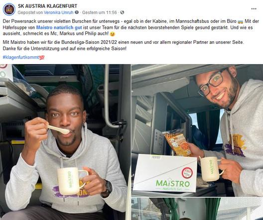 Maistro SK Austria Häferlsuppen