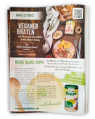 Cooking Magazin Werbung