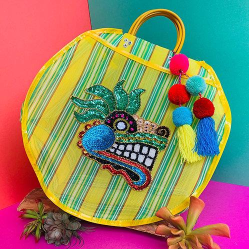 Quetzalcoatl Carry All - Yellow & Green