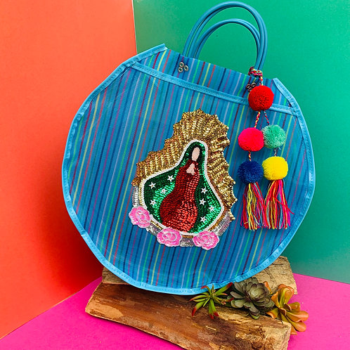 Guadalupe Carry All - Blue Rainbow
