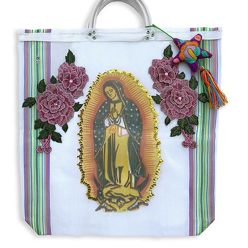 Lady Of Guadalupe -White