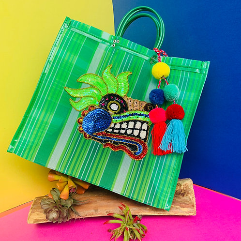 Quetzalcoatl Tote - Green